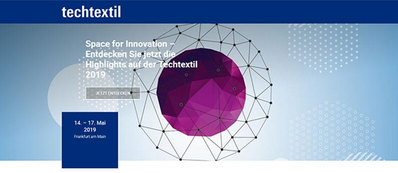 Techtextil 2019 Frankfurt 3Tech